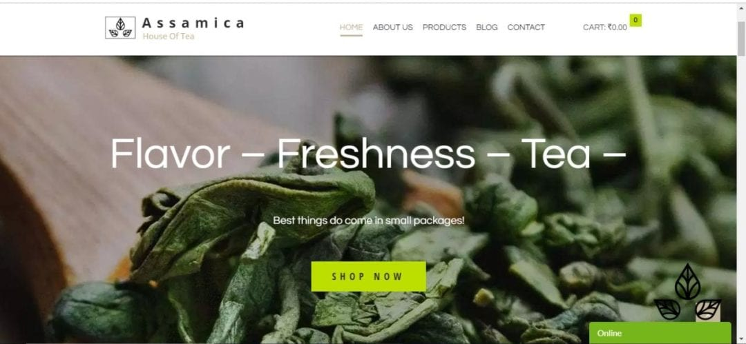 ASSAMICA TEA | WebPitchers